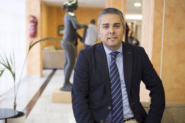 El Secretario Ejecutivo De Agua Del PPRM, Jesús Cano