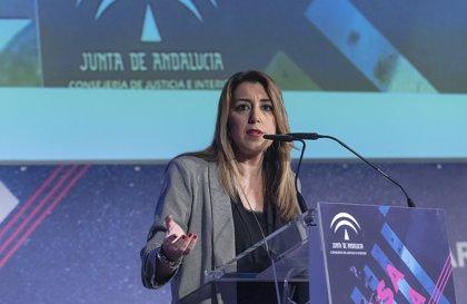 """Susana Díaz sobre el tirador que planejava matar el president: """"És fruit de l'enviliment de la vida pública"""""""