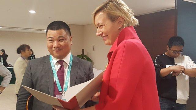 Una delegación aragonesa se encuentra en China