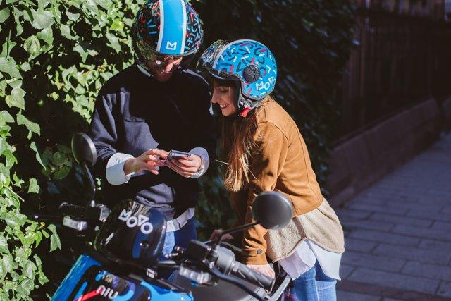 Movo llega a la capital con 300 scooters