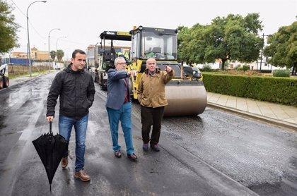 Ayuntamiento de Sevilla inicia obras en la ronda de la Doctora Oeste y su entorno, en San José de Palmete y Padre Pío