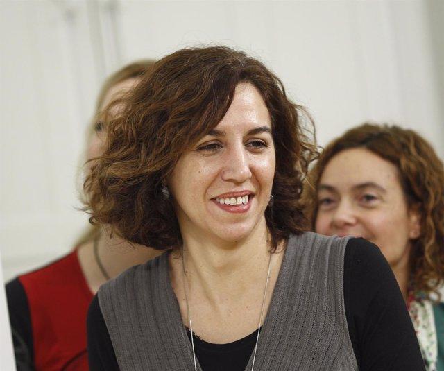 Irene Lozano participa en el acto de firma del código ético del PSOE