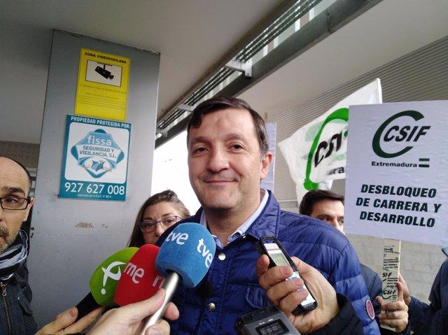 Benito Román, presidente de CSIF