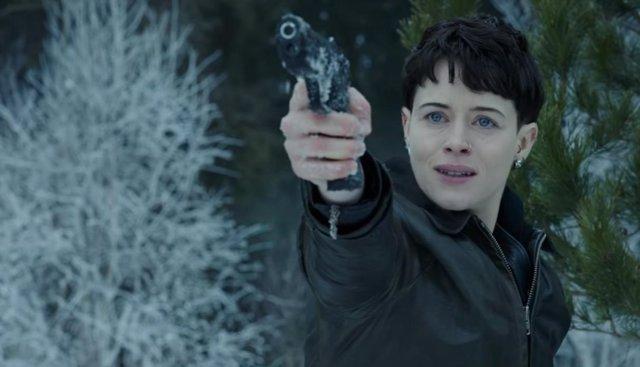 La actriz Claire Foy en 'Millenium'