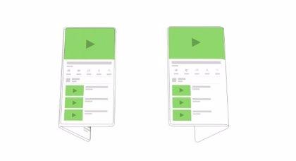 Android trabaja en el soporte para los nuevos dispositivos con pantallas plegables