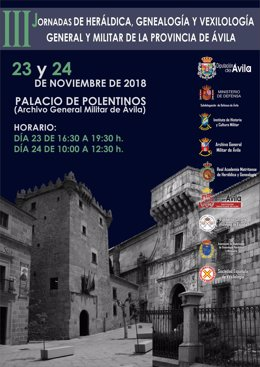 Presentación de las III Jornadas de Heráldica de Ávila