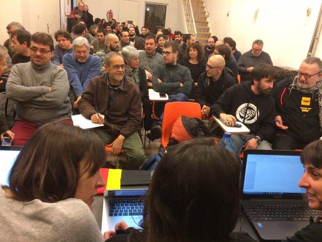 Consell Polític de la CUP a Vilafranca del Penedès
