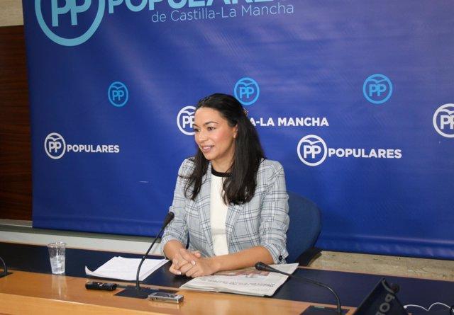 Gpp Clm (Cortes De Voz Y Fotografía) Claudia Alonso, En Rueda De Prensa 081118