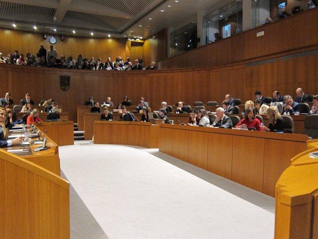Las Cortes de Aragón celebran sesión plenaria