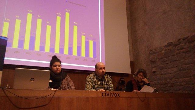 Presentación del 8º Informe 'El estado de la pobreza' en Navarra
