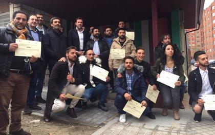 El Barrio España de Valladolid tiene nuevo Centro Multiusos gracias al trabajo de 65 alumnos de los cursos de formación