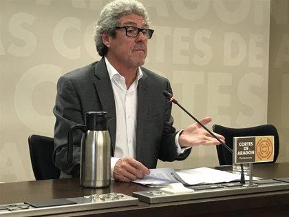 """Briz (CHA) apuesta por la """"reforma y mejora"""" del ICA negociando la propuesta del Gobierno de Aragón"""