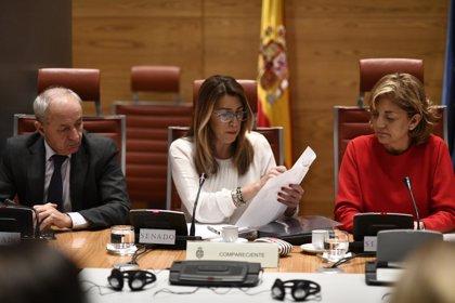 """Susana Díaz niega su vinculación con los ERE cuando el PP le acusa de """"romper papeles"""" cuando se destapó Mercasevilla"""