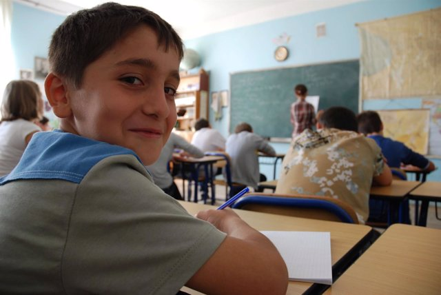 Uno de los participantes en los programas educativos