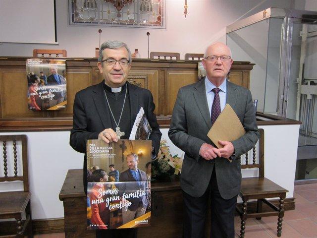 Valladolid.- Argüello y Cano presentan cuentas de la Archidiócesis 8-11-18