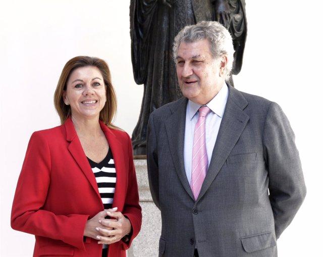 Jesús Posada y Mª Dolores de Cospedal