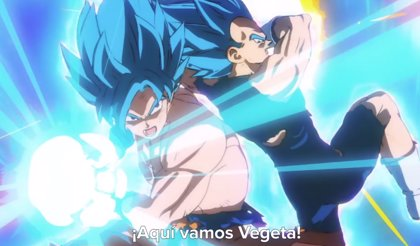 Brutal tráiler final de Dragon Ball Super: Broly con Goku y Vegeta mano a mano