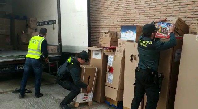 Operación de la Guardia Civil en Granada
