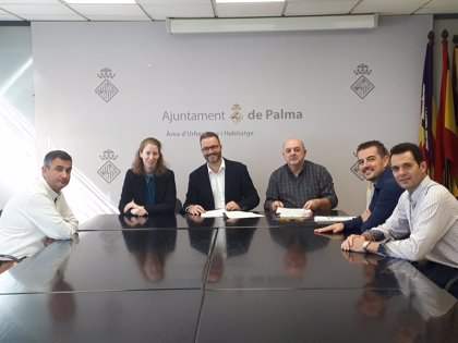 Cort firma la recepción de las obras de urbanización de Son Ferragut, con las que prevé que se construyan 500 viviendas
