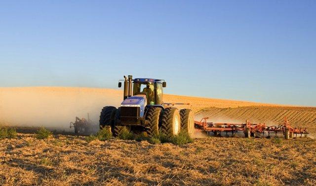 Campo, tractor
