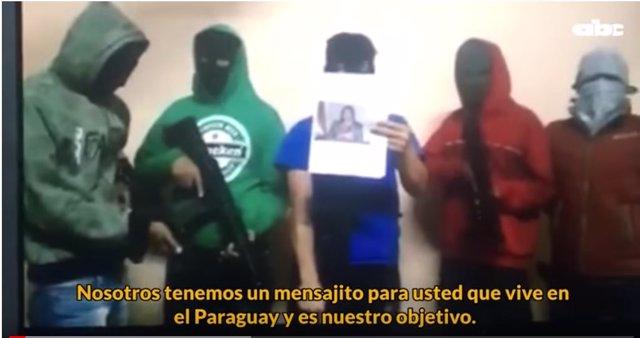 Video difundido en el que se amenaza a la fiscal Sandra Quiñónez