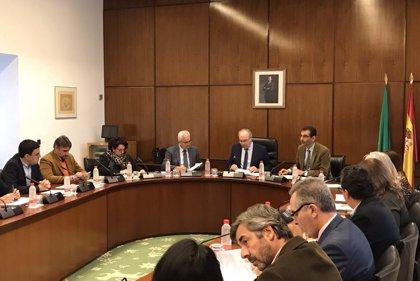 La Diputación Permanente del Parlamento convalida los decretos de la Junta sobre ayudas por el temporal