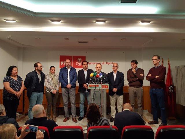 Cargos del PSOE en el Campo de Gibraltar