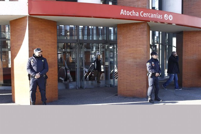Desalojo en Atocha