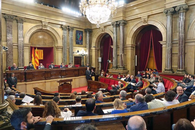 ARCHIVO / Pleno del Parlament