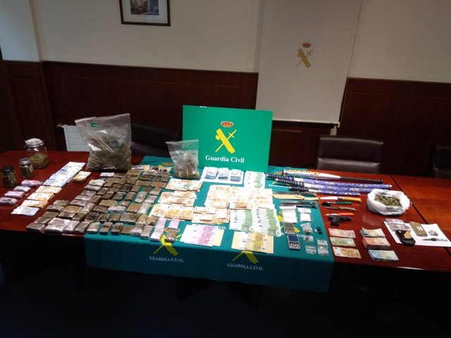 Venta de estupefacientes desmantelada por la Guardia Civil