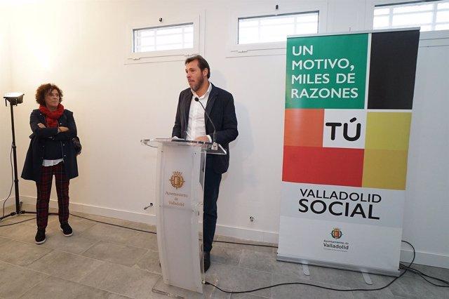 El alcalde de Valladolid, Óscar Puente. 8-11-2018