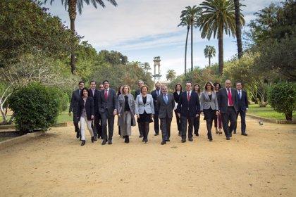 Formación, conciliación familiar y atención al letrado, ejes del proyecto de Cisneros para dirigir el Colegio de Sevilla