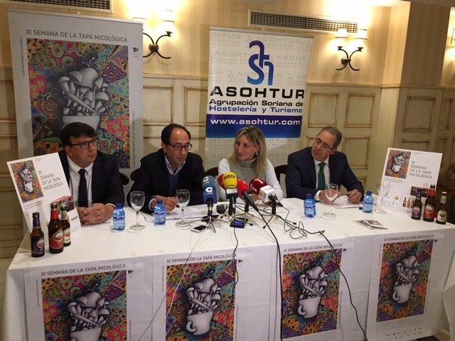 Jesús Cedazo, Manuel López, Yolanda Santos y Tomás Mugarza.