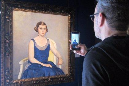 La Galería Gothsland se adentra en el universo Casas en una muestra presidida por 'La model'