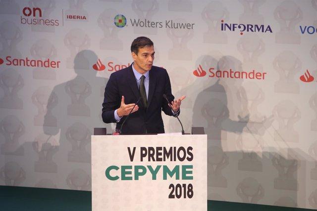 Entrega de los V Premios Cepyme