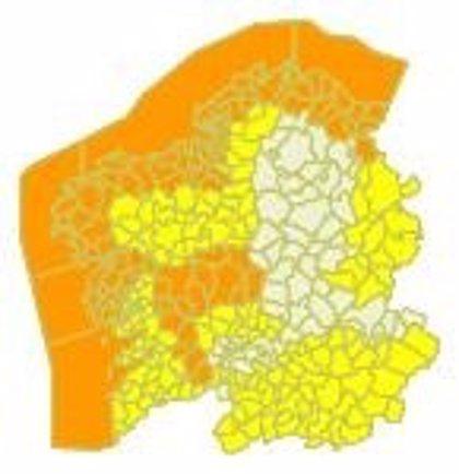 Alerta naranja este viernes en A Coruña, Pontevedra y Lugo por el temporal