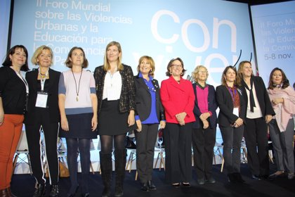 Las mujeres clausuran el Foro Antiviolencias con un mensaje de paz