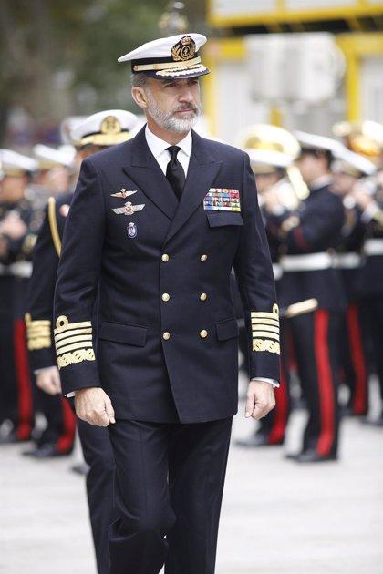 El Rey conoce la situación de la Armada, sus operaciones internacionales y programas en desarrollo