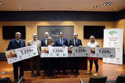 Cuatro organizaciones reciben 29.000 euros de la recaudación obtenida en la carrera urbana de Málaga