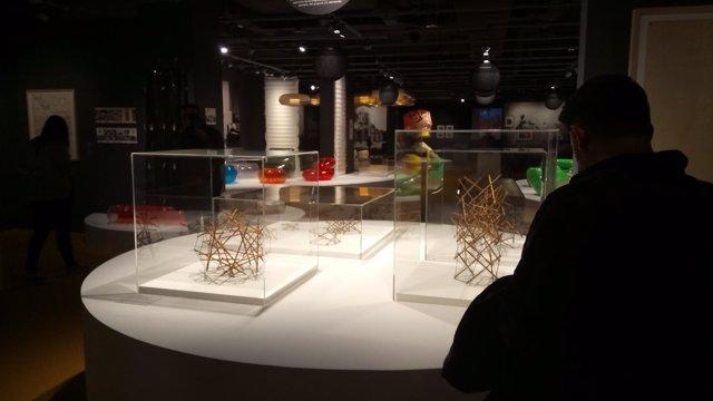 Exposición de arquitectura con hinchables en el Pompidou
