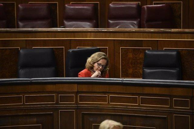 Calviño en el congreso