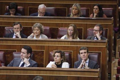 """El PP pide que cinco ministros acudan al Congreso por sus bienes, sus """"mentiras"""" y sus conflictos de intereses"""