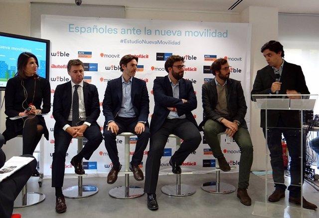 Presentación VI Estudio Españoles ante la Nueva Movilidad