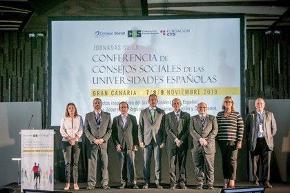 """Los Consejos Sociales de las universidades españolas piden impulsar """"profundos cambios"""" para responder a las demandas"""