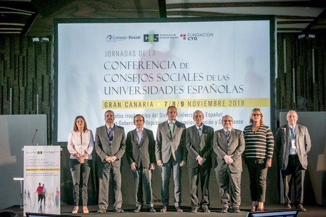 Consferencia de Consejos Sociales de las universidades españolas