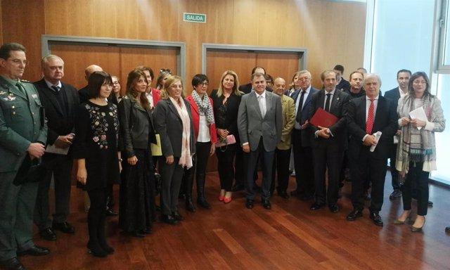 Comisión coordinación Violencia Género Málaga