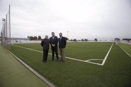Lantejuela y Lora de Estepa aprovechan el Supera y el Pfoea para mejorar sus instalaciones deportivas