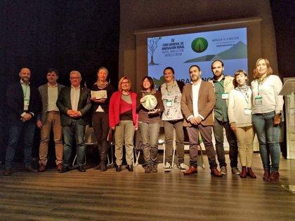 Los proyectos extremeños 'Laneras' y 'Extremerinas', premiados en el Foro Mundial de Innovación en Moraleja