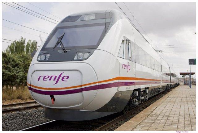 Tren de Renfe.
