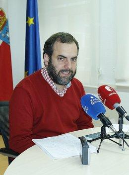 José Otto Oyarbide, concejal de limpieza y recogida de residuos de Torrelavega
